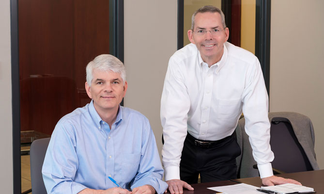 Rick & Terry Peterson, Principles of  Peterson Brothers, Inc.